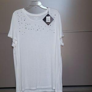 AVA & VIV White Top Size 2X (#12)